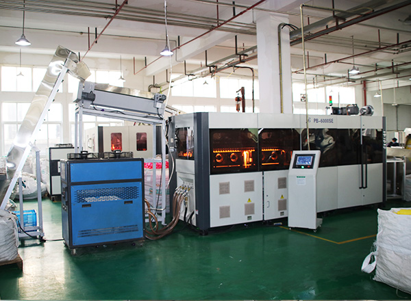 High speed PET bottle automatic blowing machine, 6cavity reach 9000bottle per hour capacity