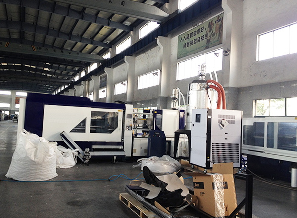 PET Preform injection molding machine, with PET chips dehumidifier, dryer, loader
