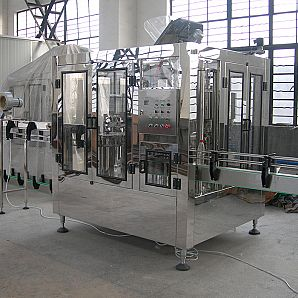 Bottling Carbonated Beverage Automatic Washing/Filling/Capping Machine