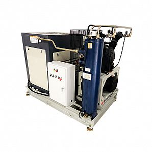Mid-High Pressure Air Compressor Systems For Blowing